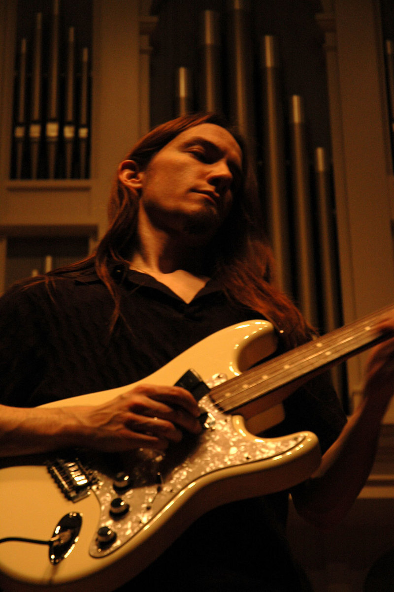 rich horner plays the music of erich zann peabody griswold hall fretless fender stratocaster